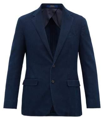 Polo Ralph Lauren Garment-dyed Cotton-pique Blazer - Mens - Blue