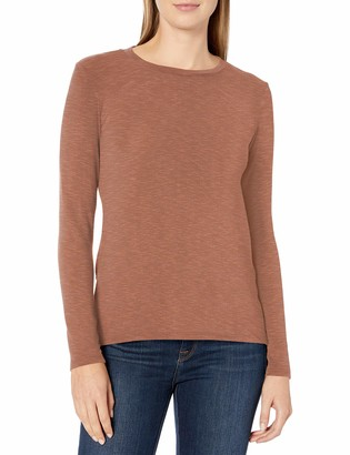 Michael Stars Women's Jayda Crew Neck Top with Back Twist