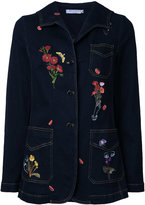 Vivetta embroidered denim jacket