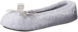Isotoner Women's Terry Ballerina Slippers