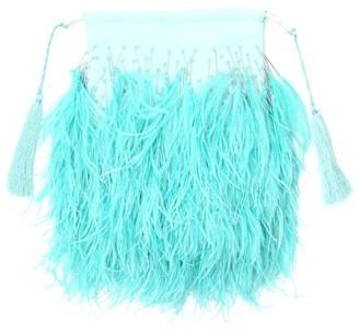 ATTICO Feathers Clutch Bag