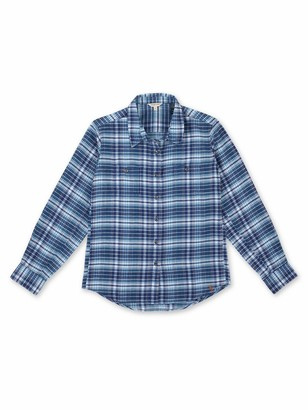 Riggs Workwear Women's Lightweight Long Sleeve Flannel Shirt