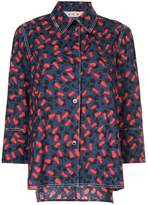 Marni patterned long-sleeved shirt