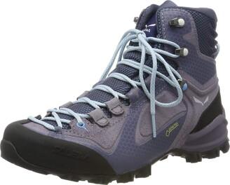 Salewa WS Alpenviolet Mid Gore-TEX Trekking & hiking boots Women's Grey (Grisaille/Ethernal Blue) 5.5 UK