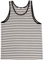 Parke & Ronen Men's Striped Stretch Tank Top