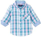 Andy & Evan Plaid Long Sleeve Shirt (Baby Boys)