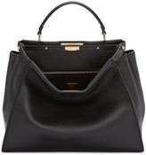Fendi Black Large Peekaboo Bag
