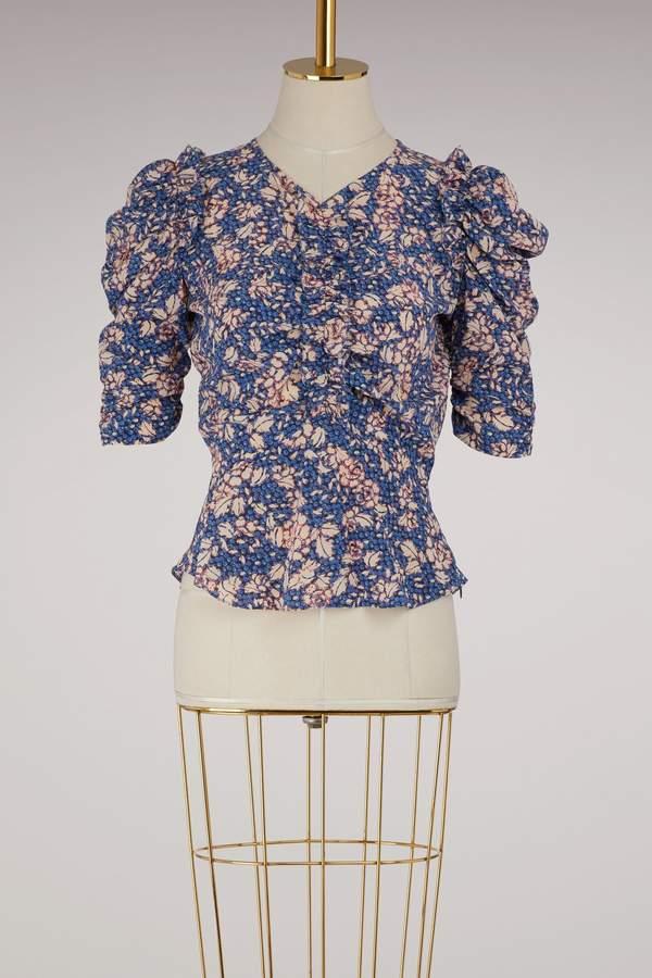 Isabel Marant Brizo silk top