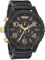 Nixon 51 30 Chrono Watch Black