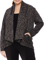 Spalding Long Sleeve Cardigan Plus