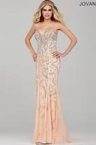 Jovani Long Beaded Prom Dress 33704