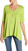 Karen Kane Short Sleeve Swing Shirt