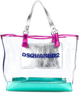 DSQUARED2 top handle tote - women - Leather/PVC - One Size