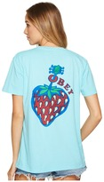 Obey Strawberry Tee Women's T Shirt