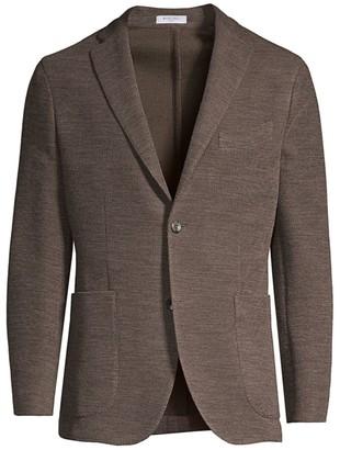 Boglioli Regular-Fit Knit Jersey Blazer