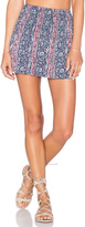 Michael Lauren Vice Mini Skirt
