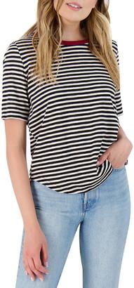 BB Dakota Drop a Line Stripe T-Shirt