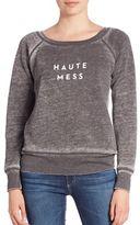 Milly Haute Mess Graphic Sweatshirt
