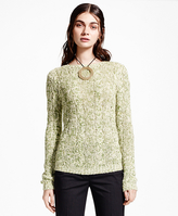 Brooks Brothers Silk-Cashmere Crewneck Sweater