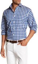 Thomas Dean Gingham Classic Fit Shirt