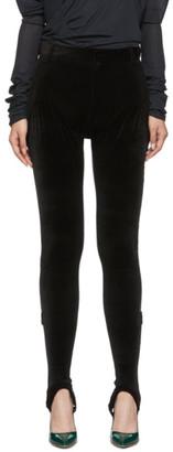 Y/Project Black Stirrup Short Jeans