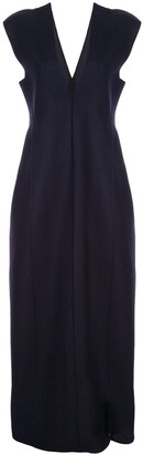 Jil Sander V-neck sleeveless dress