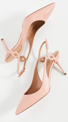 Aquazzura Serpentine Slingback 75mm
