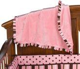 Bed Bath & Beyond Maya Stripe Ruffle Blanket