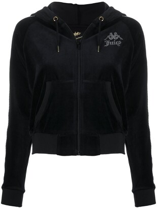 Kappa Studded Logo Side Panel Hoodie