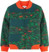 Kenzo Signature print bomber jacket