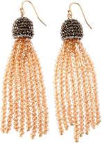 Natasha Accessories Champagne Drop Earrings