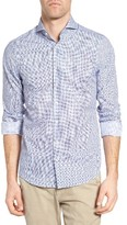 Gant Men's Action Art Print Fitted Sport Shirt
