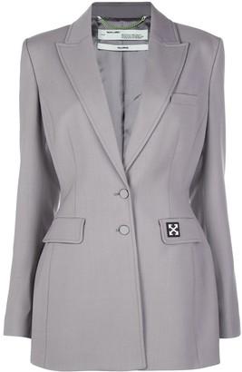 Off-White Arrows-logo suit jacket