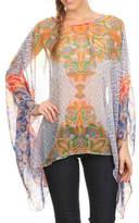fashion 123 Bohemian Pattern Poncho