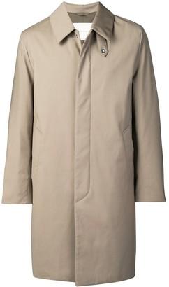 MACKINTOSH Single-Breasted Collared Coat