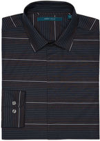 Perry Ellis Big and Tall Horizontal Ombre Stripe Shirt