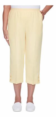 Alfred Dunner Women's Classic FIT Capri Pant