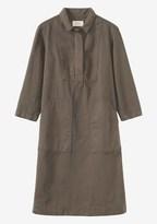 Toast Cotton Twill Workwear Dress
