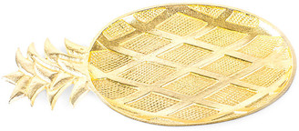 """One Kings Lane 17"""" Pineapple Decorative Tray - Gold"""