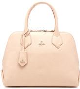 Vivienne Westwood Women's Balmoral Grain Leather Zip Around Tote Bag Pink