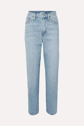 Madewell The Curvy Perfect Vintage High-rise Straight-leg Jeans - Light denim