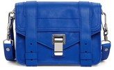 Proenza Schouler Mini Ps1 Leather Crossbody Bag - Blue