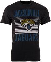 Junk Food Clothing Men's Jacksonville Jaguars Block Shutter T-Shirt