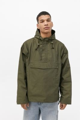 Urban Renewal Vintage Salvaged Deadstock Khaki Popover Jacket - Green S at Urban Outfitters