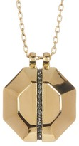 Louise et Cie Octagon Pendant Necklace