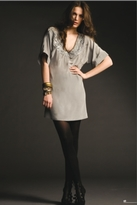 Twelfth St. By Cynthia Vincent by Cynthia Vincent Beaded V-Neck in Mauve Grey