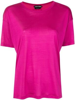 Tom Ford short-sleeve silk T-shirt