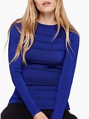 Damsel in a Dress Clariss Zip Jumper, Cobalt