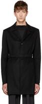 Mackintosh 0001 Black Cashmere Belted Trench Coat