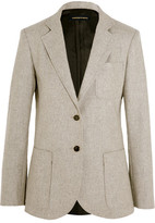 Vanessa Seward Abel Wool Blazer - Light gray